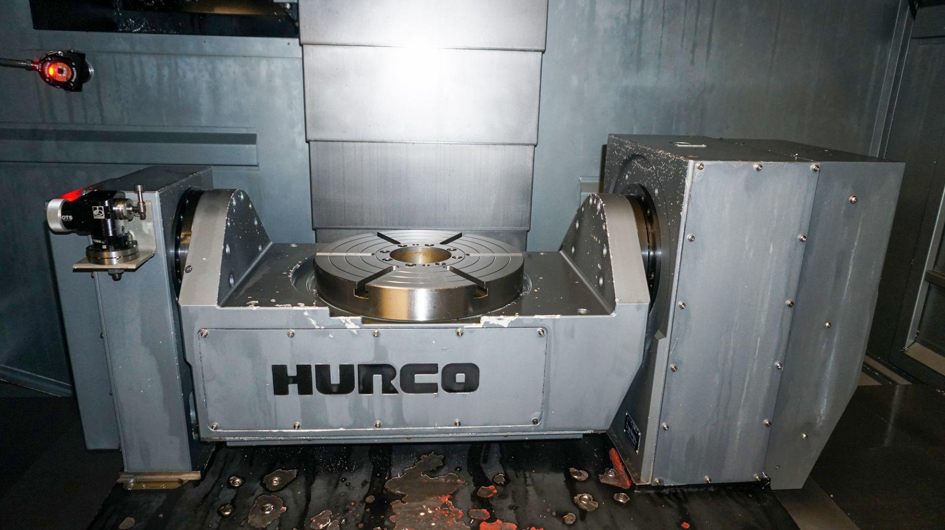 HURCO (2012) VMX42UI 5 AXIS CNC VERTICAL MACHINING CENTER WITH HURCO DUAL SCREEN CNC CONTROL, 13. - Image 6 of 20
