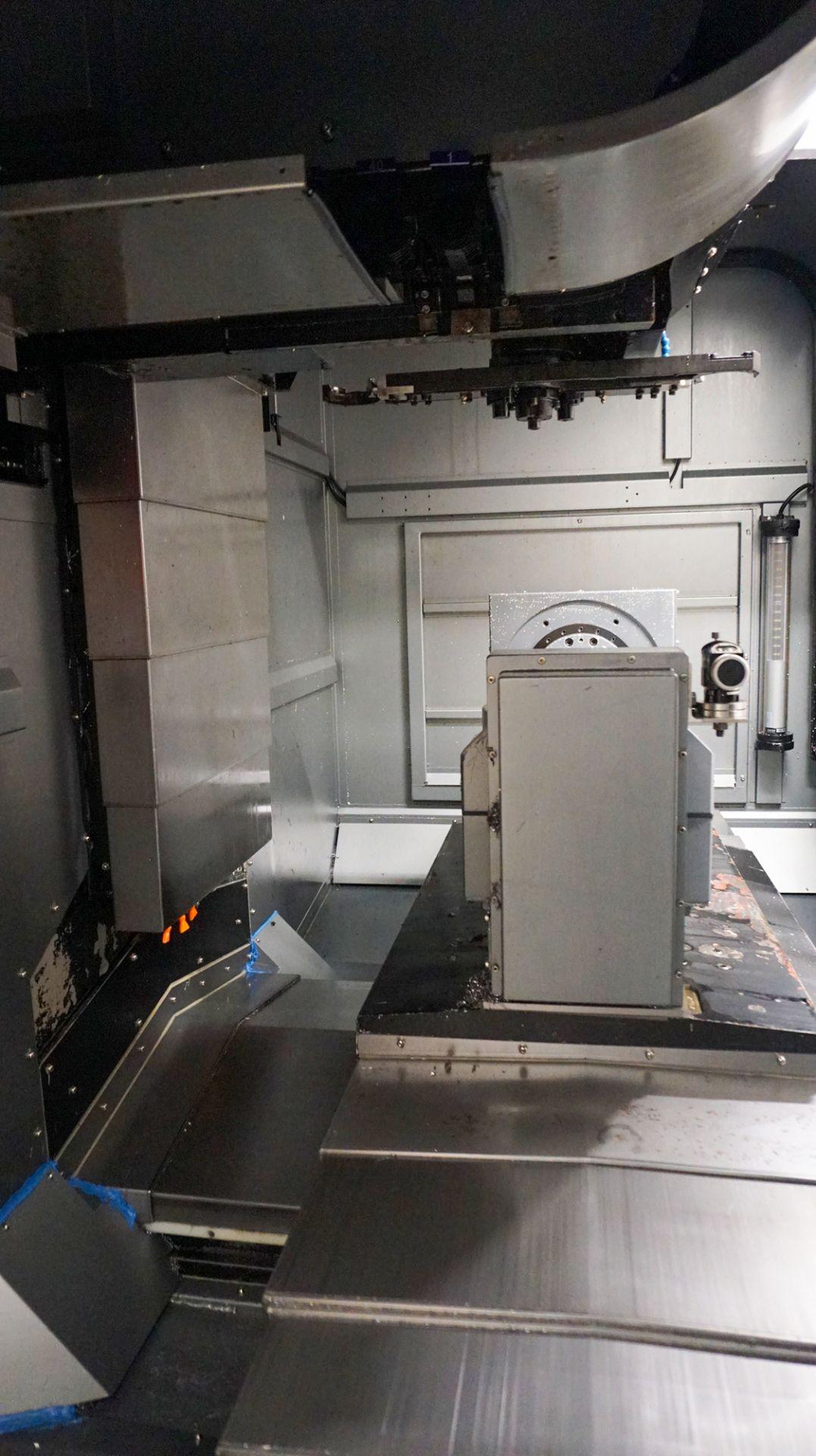 HURCO (2012) VMX42UI 5 AXIS CNC VERTICAL MACHINING CENTER WITH HURCO DUAL SCREEN CNC CONTROL, 13. - Image 13 of 20