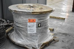 LOT/ SPOOL OF COSMOS 477 MCM 19 STRAND AAC BARE ALUMINUM CONDUCTOR WIRE, APPROX. 3250 FT LENGTH (