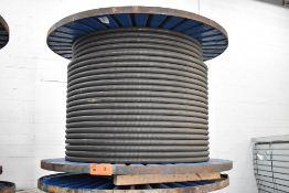 LOT/ SPOOL OF WESTBURNE GENERAL CABLE 250 4C ACWU90 NU AL 600V LLR (4) ALUMINUM CONDUCTOR METAL CLAD