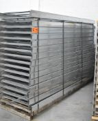 LOT/ (30) 10'X3' C.E.R. LCS4X-36-12 GALVANIZED VENTILATED CABLE TRAYS (LOCATED AT 111 NEWMAN BLVD,