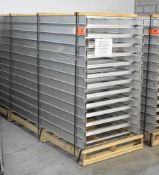 LOT/ (26) 10'X3' C.E.R. LCA43-36-12 ALUMINUM VENTILATED CABLE TRAYS (LOCATED AT 111 NEWMAN BLVD,