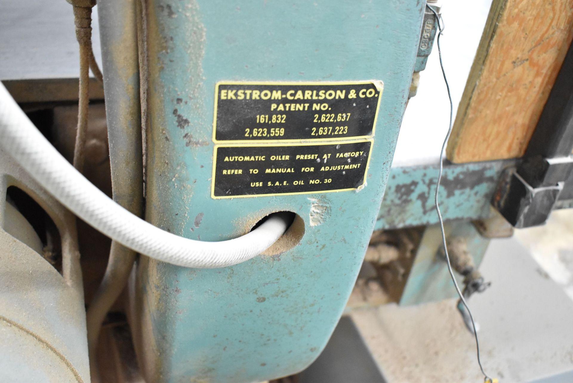 Lot 266 - EKSTROM-CARLSON RIP SAW, S/N: N/A (CI) [RIGGING FEES FOR LOT #266 - $750 CDN PLUS APPLICABLE TAXES]