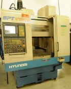 HYUNDAI (2001) SPT-V550D CNC TWIN PALLET VERTICAL MACHINING CENTER WITH SIEMENS CNC CONTROL, (2)