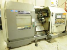 HYUNDAI KIA (2009) SKT250TTSY CNC MULTI-AXIS, OPPOSED SPINDLE TWIN TURRET LIVE MILLING AND TURNING