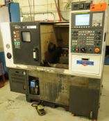 HYUNDAI WIA (2014) KIT-250 HIGH PRECISION CNC GANG STYLE TURNING CENTER WITH FANUC I SERIES CNC