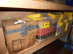 LOT/ CONTENTS OF SHELF CONSISTING OF EMERGENCY BLANKETS (SC 332)