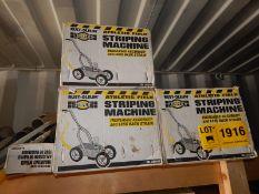 LOT/ RUST-OLEUM STRIPING MACHINES (SC 332)