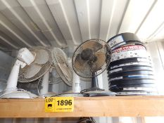 LOT/ FANS AND PROPANE TANK STABILIZERS (SC 332)