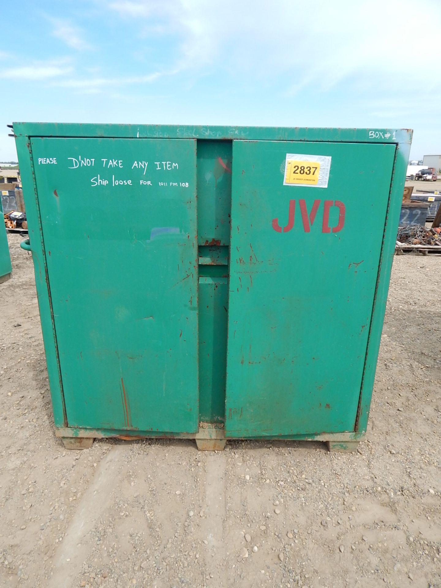 LOT/ (2) GREENLEE 2-DOOR JOB BOX CABINETS