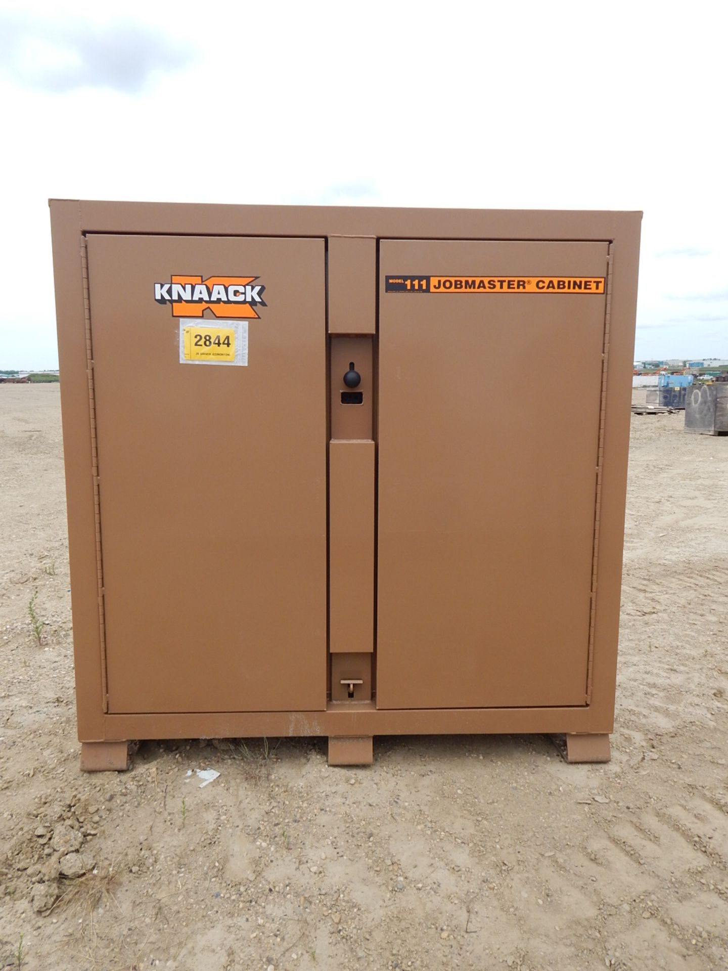 KNAACK 2-DOOR JOBMASTER CABINET, S/N: N/A