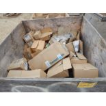 LOT/ CONTENTS OF CRATE CONSISTING OF ELECTRICAL HARDWARE