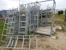 LOT/ ACCESS LADDERS, STARTER BRACKETS, CLAMPS, JOINERS AND PLANKS