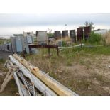 LOT/ ELECTRICAL BOXES, SURPLUS MATERIALS AND STEEL CABLE REELS