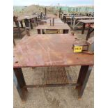 LOT/ STEEL WORK TABLES