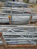 LOT/ SCAFFOLDING COMPONENTS INCLUDING RING-LOCK STANDARDS AND SCAFFOLDING TUBES