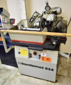 "WEINIG R934 RONDAMAT PROFILE KNIFE GRINDER WITH 6"" TO 8"" WHEEL DIAMETER, SPEEDS TO 3000 RPM, 1.5 HP,"
