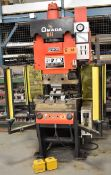 "AMADA SPH-30 HYDRAULIC C-FRAME PRESS BRAKE WITH 30 TON CAPACITY, 3.94"" STROKE, 12""X1/2"" BENDING"
