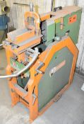 PEDDINGHAUS (2000) PG100 FLOOR TYPE PIPE GRINDER, S/N: 17244 (CI) [RIGGING FEES FOR LOT #44 - $75