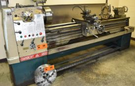"DARBERT DB-1800 GAP BED ENGINE LATHE WITH 12"" SWING OVER BED, 42"" BETWEEN CENTERS, SPEEDS TO 1600"