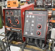 LINCOLN ELECTRIC INVERTEC STT II DIGITAL ARC WELDER WITH LINCOLN ELECTRIC STT-10 DIGITAL WIRE