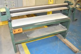 "SLP 50""X16GA BENDING ROLLS WITH 3"" MIN. ROLLING DIAMETER, S/N: 21003 [RIGGING FEES FOR LOT #41 - $25"