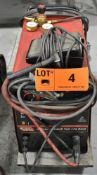 LINCOLN ELECTRIC SQUARE WAVE TIG 175 PRO TIG WELDER WITH CABLES & GUN, S/N: U1031025636 [RIGGING