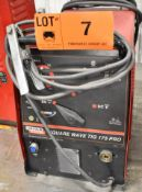 LINCOLN ELECTRIC SQUARE WAVE TIG 175 PRO TIG WELDER WITH CABLES & GUN, S/N: U1030506901 [RIGGING