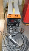 HBS (2010) CD2301 PORTABLE DIGITAL STUD WELDER WITH CABLES & GUN, S/N: 1011799