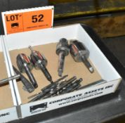 LOT/ DRILL CHUCKS & TOOLING