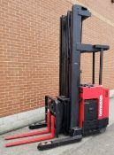"RAYMOND (2006) DR30TT 36V ELECTRIC REACH TRUCK WITH 3000 LB. CAPACITY, 272"" MAX. LIFT HEIGHT, 819"