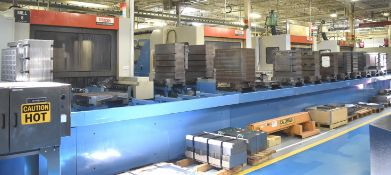 MAZAK PALLETECH CNC MANUFACTURING CELL CONSISTING OF LOT 2 TO LOT 6