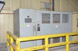 WESTINGHOUSE 1,500KVA/6600-600/347V/3PH/60HZ DRY TYPE TRANSFORMER, S/N 77TZE010 WITH WESTINGHOUSE
