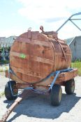 MFG UNKNOWN WATER TANKER TRAILER, S/N N/A (OFF-ROAD/YARD TRAILER ONLY - NOT PLATED) [RIGGING FEES