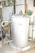 LOT/ CONTENTS OF HYDROGEN PEROXIDE UNLOADING STATION CONSISTING OF STAINLESS STEEL HOLDING TANK, (2)