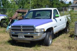 DODGE (1998) RAM 1500 REGULAR CAB PICKUP TRUCK, VIN 1B7HF16Y5WS719620 (OFF-ROAD/YARD TRUCK ONLY -