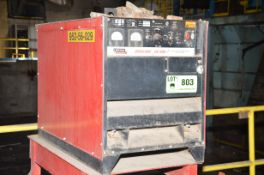 LINCOLN IDEALARC 600 WELDING POWER SOURCE, S/N N/A [RIGGING FEES FOR LOT #803 - $125 USD PLUS