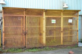OUTDOOR PROPANE AND FLAMMABLE GAS STORAGE CAGE [RIGGING FEES FOR LOT #843 - $150 USD PLUS APPLICABLE