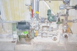 LOT/ ANSILEX INDIRECT DRIVE PUMP WITH INSTRUMENTS AND VALVES, S/N N/A [RIGGING FEES FOR LOT #