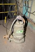FLYGT HEAVY DUTY SUBMERSIBLE PUMP, S/N N/A [RIGGING FEES FOR LOT #800 - $85 USD PLUS APPLICABLE