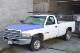 DODGE (2001) RAM 1500 REG CAB PICKUP TRUCK, VIN 1B7HF16Y51S332316 (OFF-ROAD/YARD TRUCK ONLY - NOT
