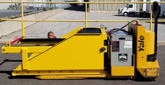 YALE (2000) MPW060LNC24T2748 24V ELECTRIC WALK-BEHIND PALLET JACK WITH 6000 LB. CAPACITY, MTC ABP-