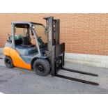 """TOYOTA (2014) 8FG35U LPG FORKLIFT WITH 8000 LB. CAPACITY, 132"""" MAX. VERTICAL LIFT, SIDE SHIFT,"""