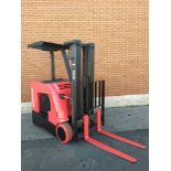 """RAYMOND (2013) 4250 36V ELECTRIC REACH TRUCK WITH 3000 LB. CAPACITY, 191"""" MAX. VERTICAL LIFT, 11,224"""