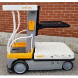 """CROWN (2015) WAV50-118 24V ELECTRIC ORDER PICKER WITH 500 LB. CAPACITY, 118"""" VERTICAL LIFT, BUILT-IN"""