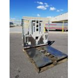 CASCADE 35E-PPS-60506 EXTENDABLE SCISSOR PUSH/PULL ATTACHMENT WITH 3500 LB. CAPACITY, S/N: 382737-T1