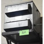 HAMMOND TRANSFORMER WITH 15 KVA, 480Y/227LV, 600HV, 3 PH (CI) [RIGGING FEES FOR LOT #8A - $50
