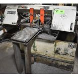 """BAXTER VERTICUT MODEL 260 HORIZONTAL BAND SAW WITH APPROX. 22""""X12"""" CAPACITY, COOLANT, 120""""X12"""""""