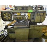 """HYDMECH S-20 HORIZONTAL BAND SAW WITH 18""""X13"""" CAPACITY, COOLANT, S/N: N/A (NOT IN SERVICE) (CI) ["""