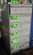 LOT/ LISTA 6 DRAWER TOOL CABINET WITH REMAINING CONTENTS (DELAYED DELIVERY)
